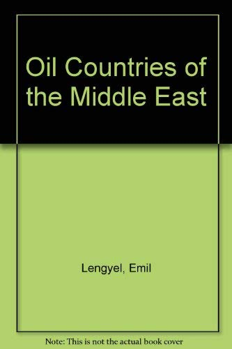 9780531008096: Oil Countries of the Middle East