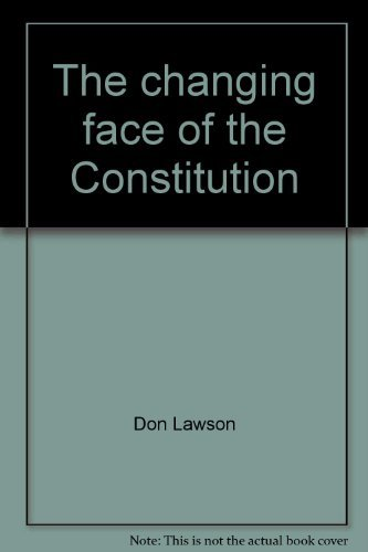 The changing face of the Constitution: Prohibition,: Don Lawson