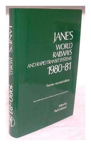 Janes World Railways 1980-1981 (9780531039380) by Janes