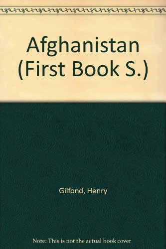 9780531041574: Afghanistan (First Book)