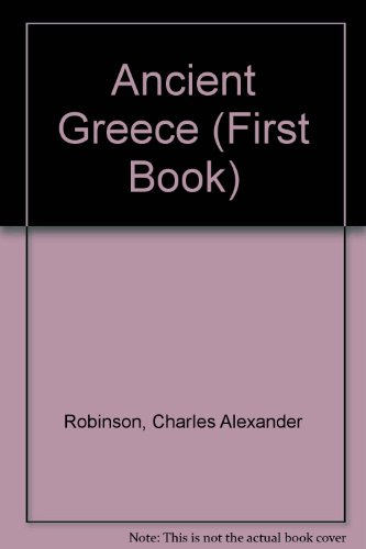 9780531047279: Ancient Greece: A First Book