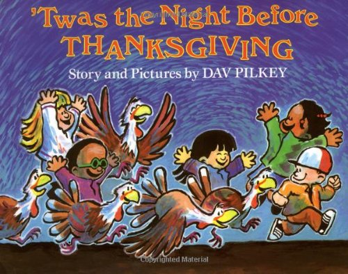 9780531059050: TWAS THE NIGHT BEFORE THANKSGI
