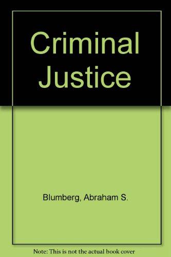 9780531063293: Criminal Justice