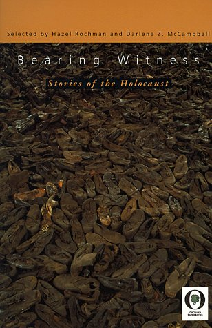 9780531071151: Bearing Witness: Stories of the Holocaust