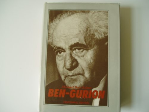 9780531096703: Ben-Gurion: A Biography
