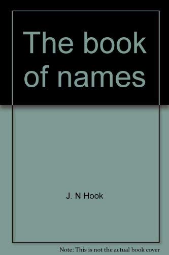 9780531098059: The book of names