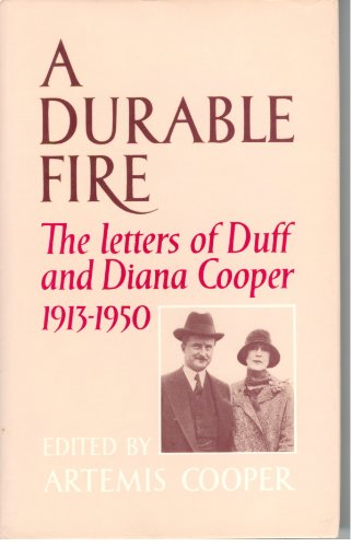 9780531098271: A Durable Fire: The Letters of Duff and Diana Cooper, 1913-1950