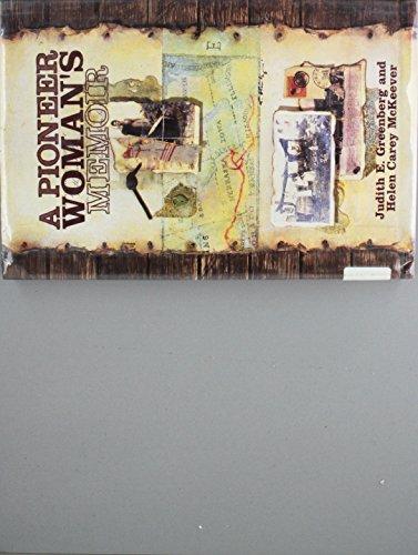 9780531112113: A Pioneer Woman's Memoir (In Their Own Words)