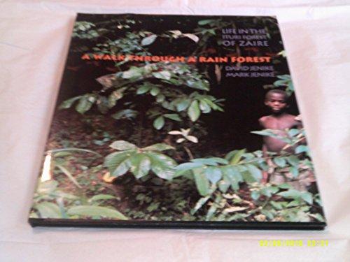 9780531157213: A Walk Through a Rain Forest: Life in the Ituri Forest of Zaire (Cincinnati Zook Book)
