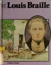 9780531180716: Louis Braille (Great Lives)