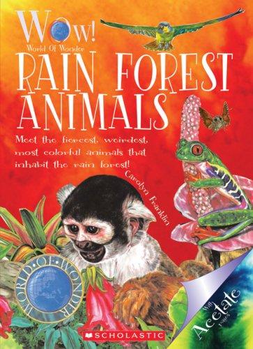 9780531205433: Rain Forest Animals (World of Wonder (Scholastic) Paperback)