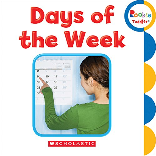 9780531205686: Days of the Week (Rookie Toddler)