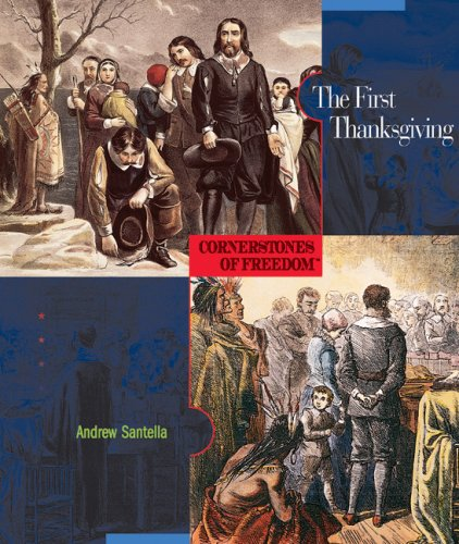 9780531208359: The First Thanksgiving (Cornerstones of Freedom Second Series)