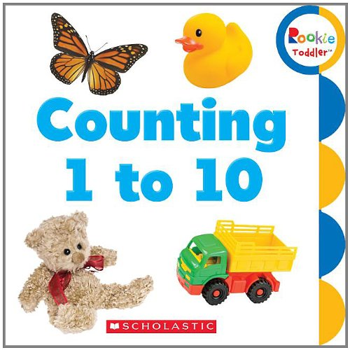 9780531208519: Counting 1 to 10 (Rookie Toddler)