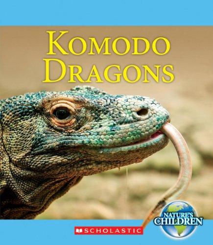 9780531210772: Komodo Dragons