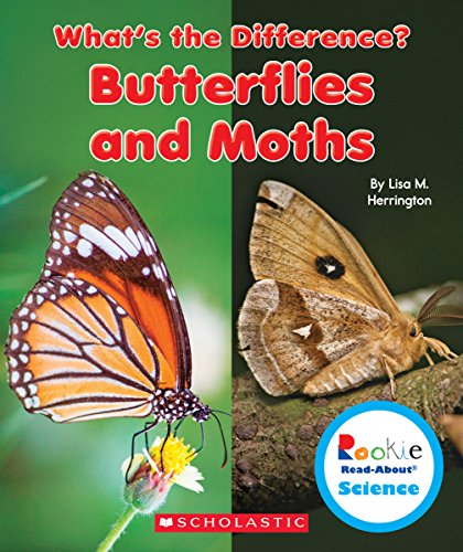 9780531215333: Butterflies and Moths (Rookie Read-about Science: What's the Difference?)