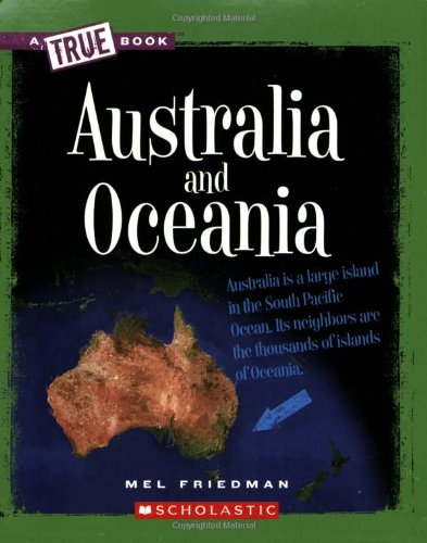 9780531218280: Australia and Oceania (True Books)