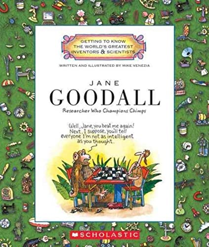 9780531223529: Jane Goodall: Researcher Who Champions Chimps (Getting to Know the World's Greatest Inventors & Scientists)