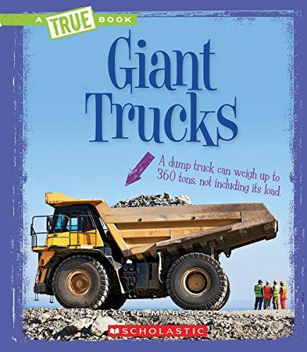 9780531224816: Giant Trucks (True Book)