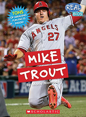 9780531225646: Mike Trout (Real Bios)