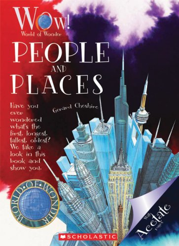 9780531238240: People and Places (World of Wonder)