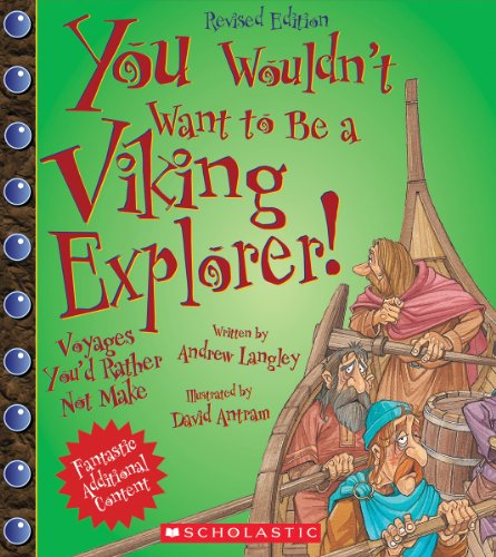 9780531238547: You Wouldn't Want to Be a Viking Explorer!