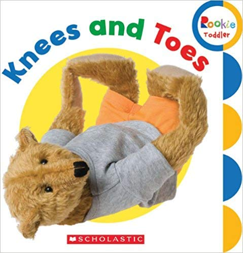 9780531245460: Knees and Toes (Rookie Toddler)