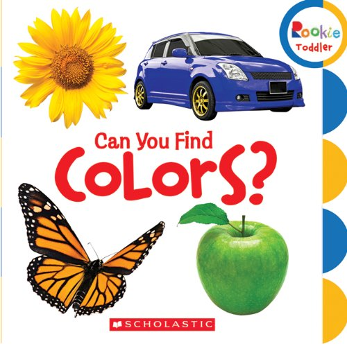 9780531252314: Can You Find Colors? (Rookie Toddler)