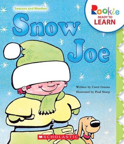 9780531256442: Snow Joe (Rookie Ready to Learn: Seasons and Weather)