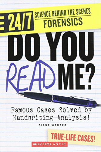 9780531262092: Do You Read Me?: Famous Cases Solved by Handwriting Analysis! (24/7: Science Behind the Scenes: Forensics)