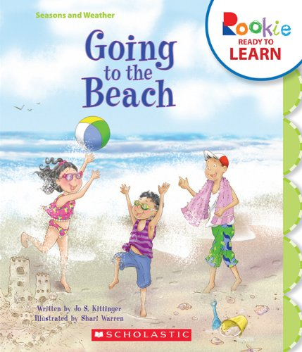 9780531268018: Going to the Beach (Rookie Ready to Learn)