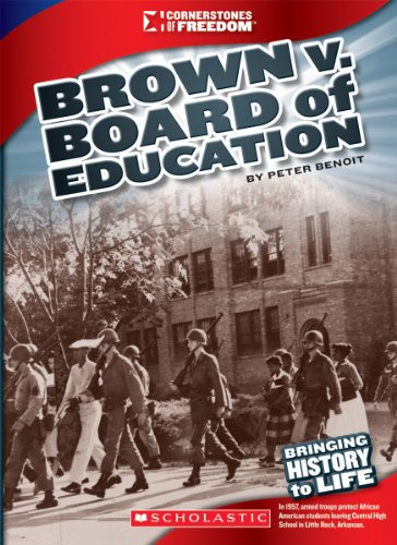 9780531281529: Brown V. Board of Education (Cornerstones of Freedom. Third Series)