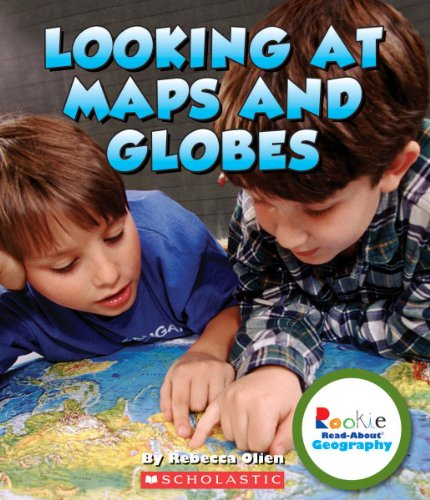 9780531292884: Looking at Maps and Globes (Rookie Read-About Geography)