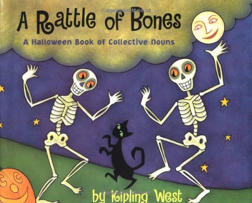 9780531301968: A Rattle of Bones: A Halloween Book of Collective Nouns
