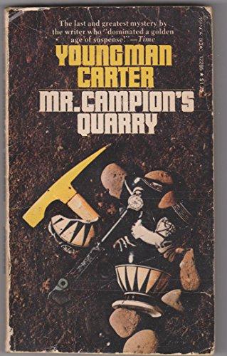 9780532122951: Mr Campions Quarry