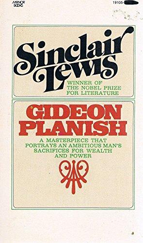 9780532191056: Gideon Planish