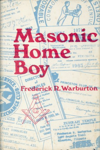 9780533000104: Masonic Home boy