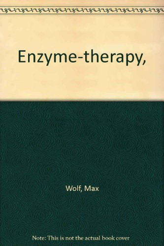 9780533003938: Enzyme-therapy,
