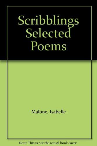 9780533006731: Scribblings Selected Poems