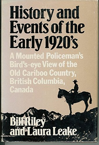 History and Events of the Early 1920s