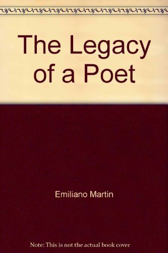 9780533078509: The Legacy of a Poet