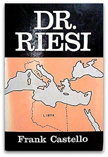 9780533083169: Dr. Riesi