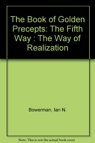 9780533087099: The Book of Golden Precepts: The Fifth Way : The Way of Realization