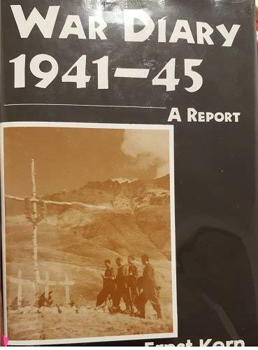 9780533103133: War Diary 1941-45: A Report