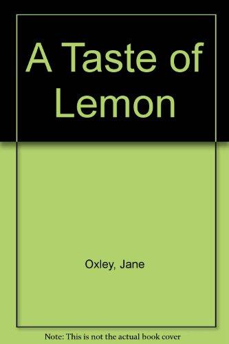 9780533108749: A Taste of Lemon
