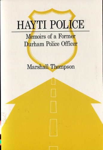 9780533129157: Hayti Police