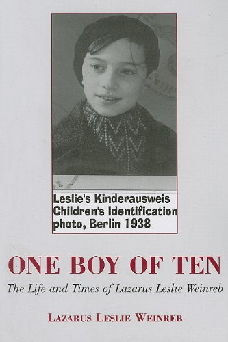 9780533154784: One Boy of Ten: The Life and Times of Lazarus Leslie Weinreb