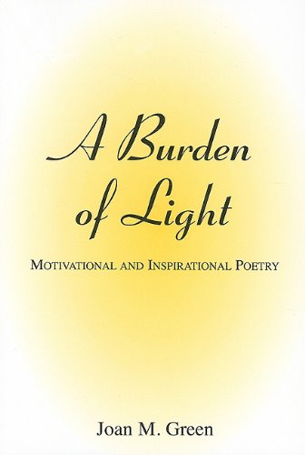 9780533158003: A Burden of Light: Motivational and Inspirational Poetry