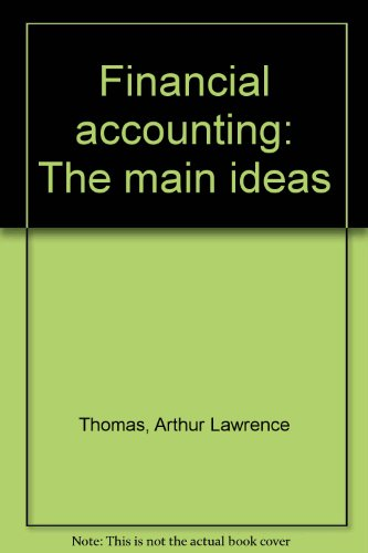 9780534000936: Financial accounting: The main ideas