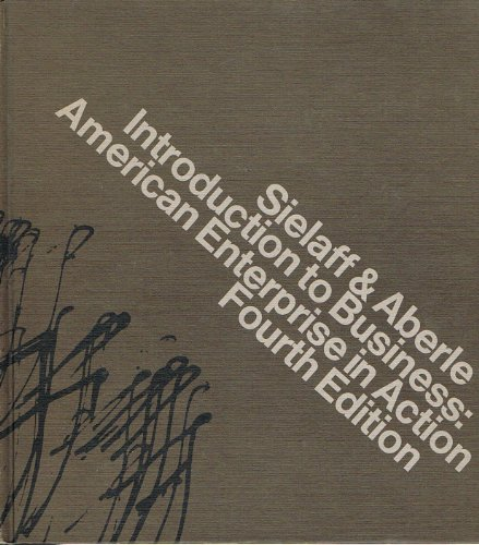 9780534001162: Introduction to business: American enterprise in action